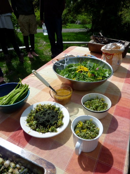 wild food lunch