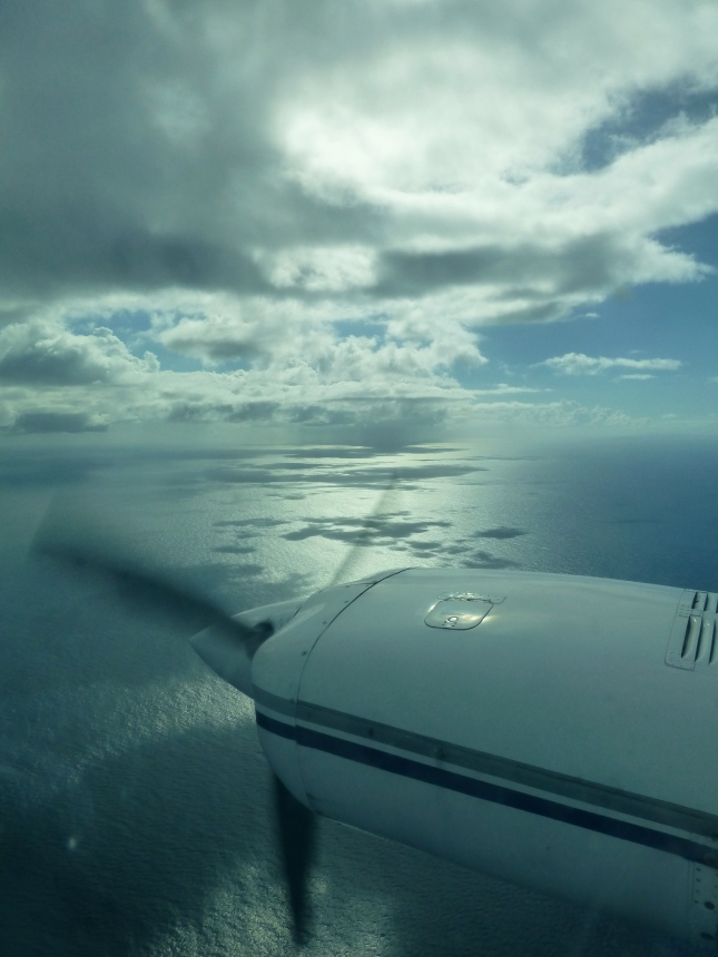 beautiful plane ride