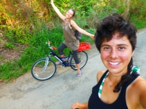 biking with SaRah